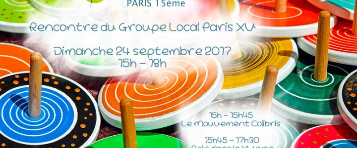 Réunion du groupe local (24 septembre 2017)