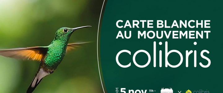 Carte blanche au mouvement Colibris (fondation Goodplanet, 5 nov. 2017)