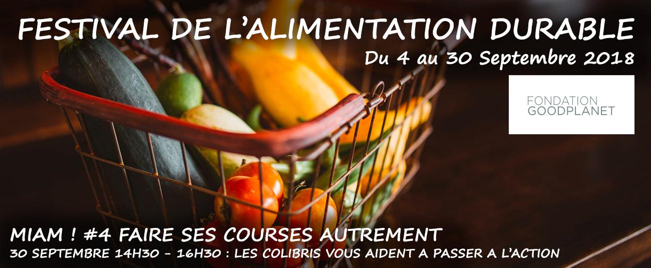 Festival MIAM ! Alimentation durable Fondation GoodPlanet