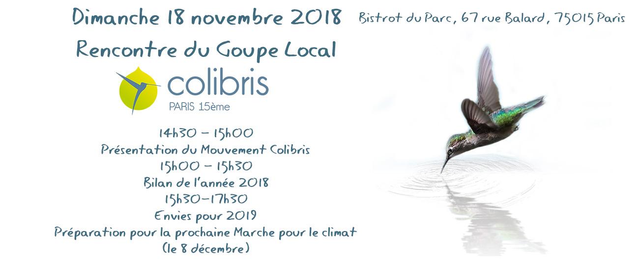 Rencontre GL - Novembre 2018