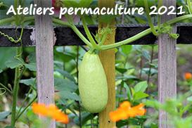 Ateliers permaculture – saison 2021 !